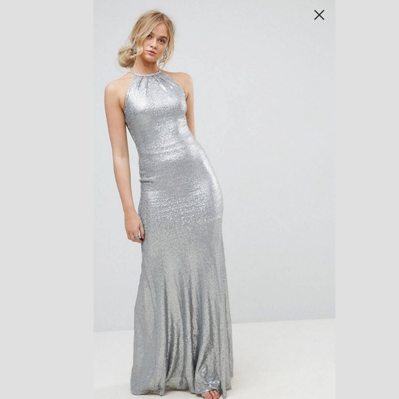 Tall Sequin Party Dress